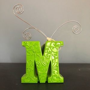 Letter M Jewelry Holder